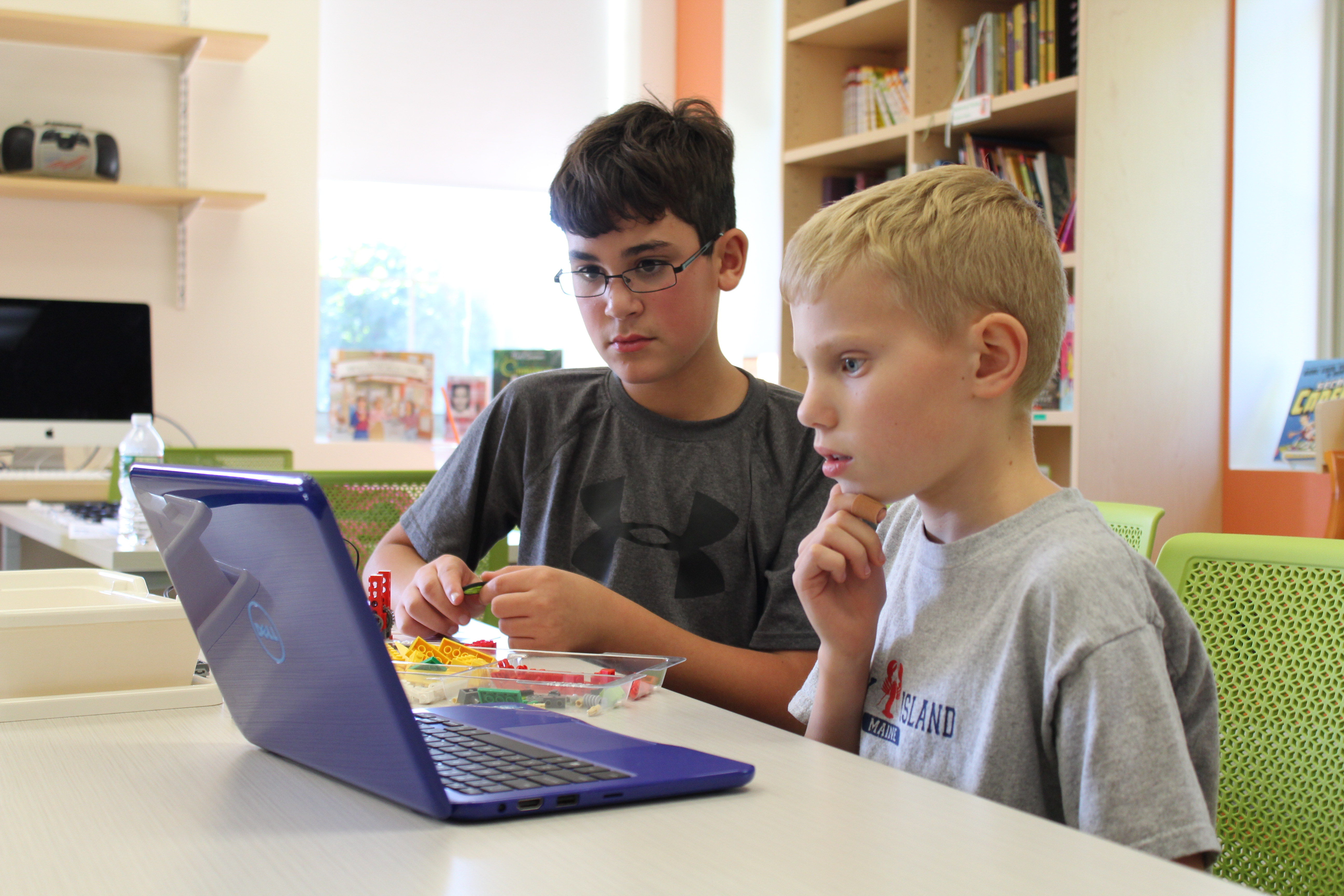 Wolf students participate in our new after school Snapology program